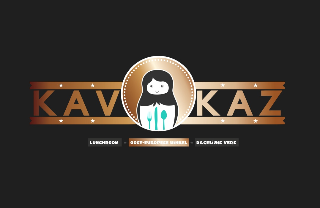 KAVKAZ Den Bosch, Winkel website ontwerp