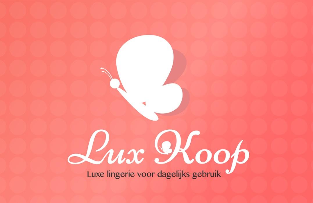 Logo ontwerp Lux Koop webwinkel