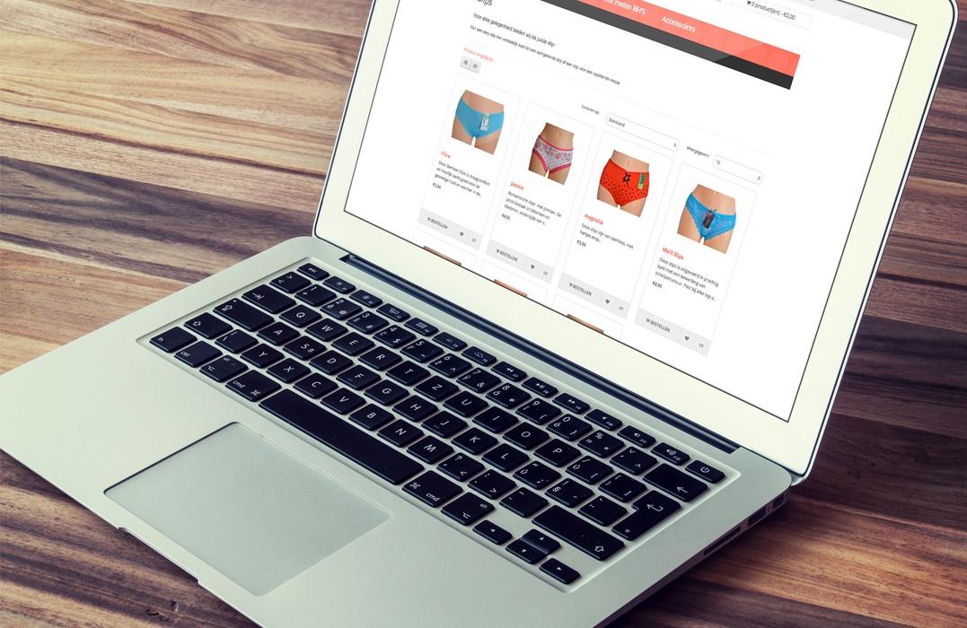 Webwinkel ontwikkeling Luxkoop.nl - Lingerie online kopen