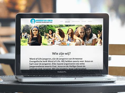 Kerk website met impact