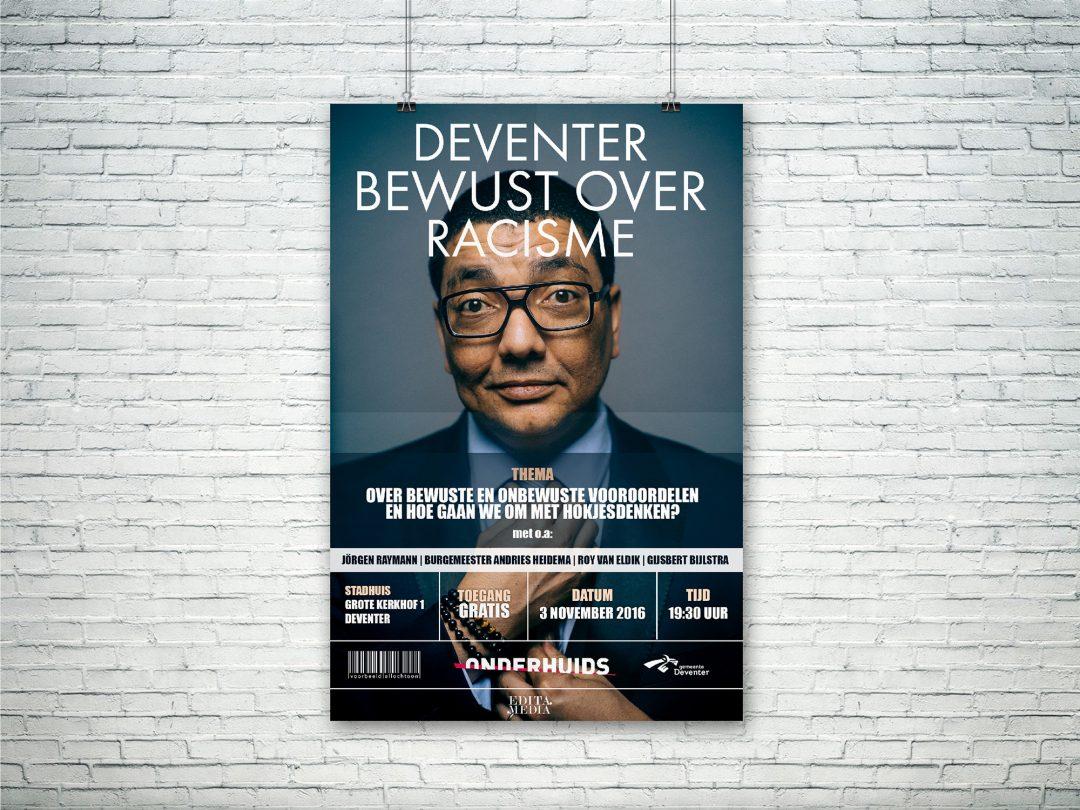 Flyer Deventer bewust over Racisme